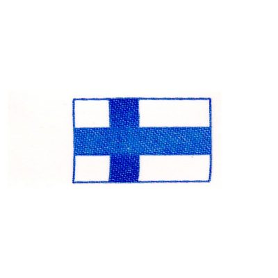 Flag of Finland patches